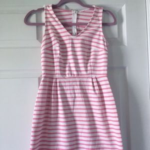 Striped cotton dress size small